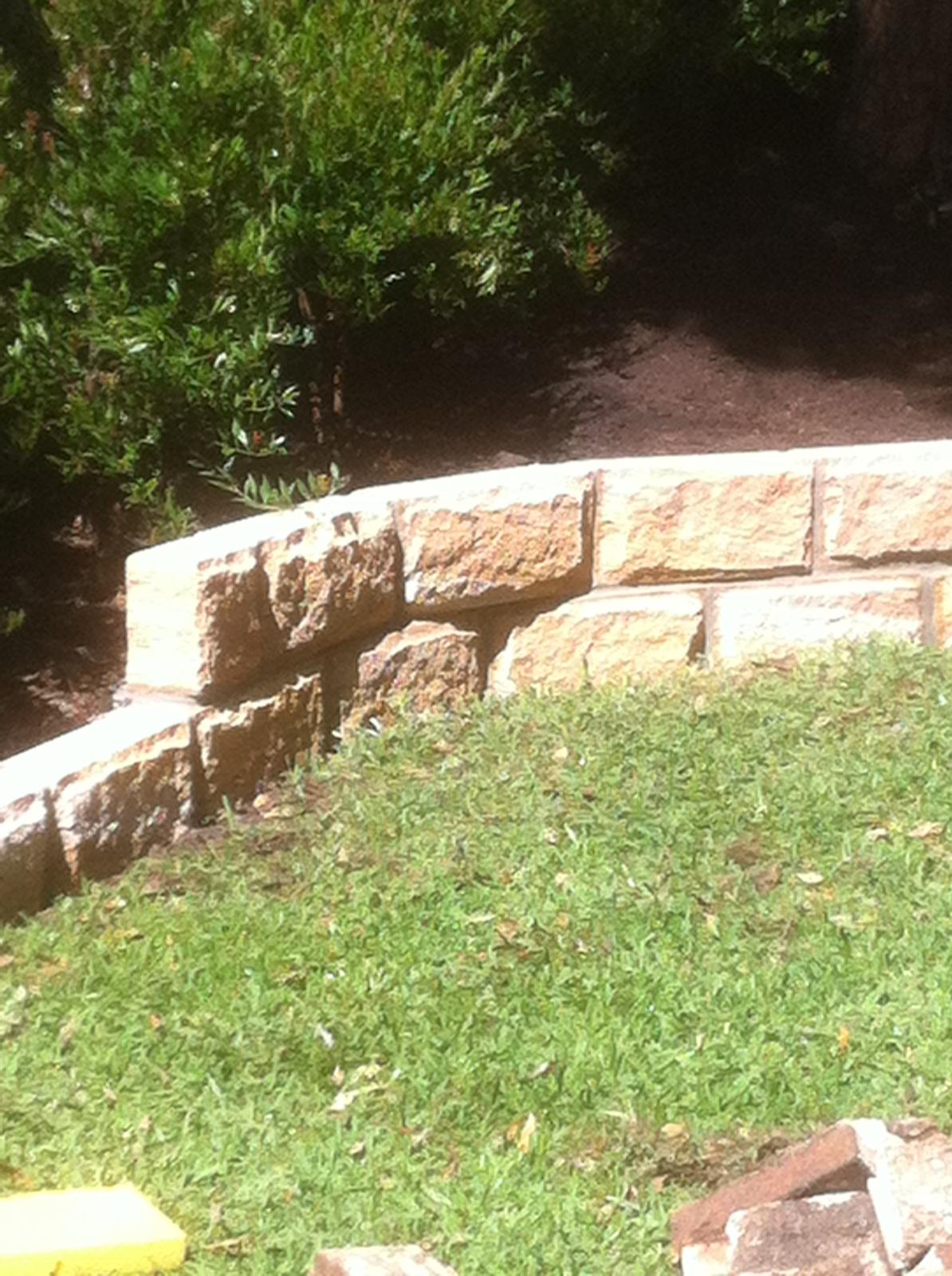 Retaining Wall in Kellyville