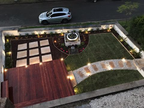 Garden Makeover in Castle Hill, NSW