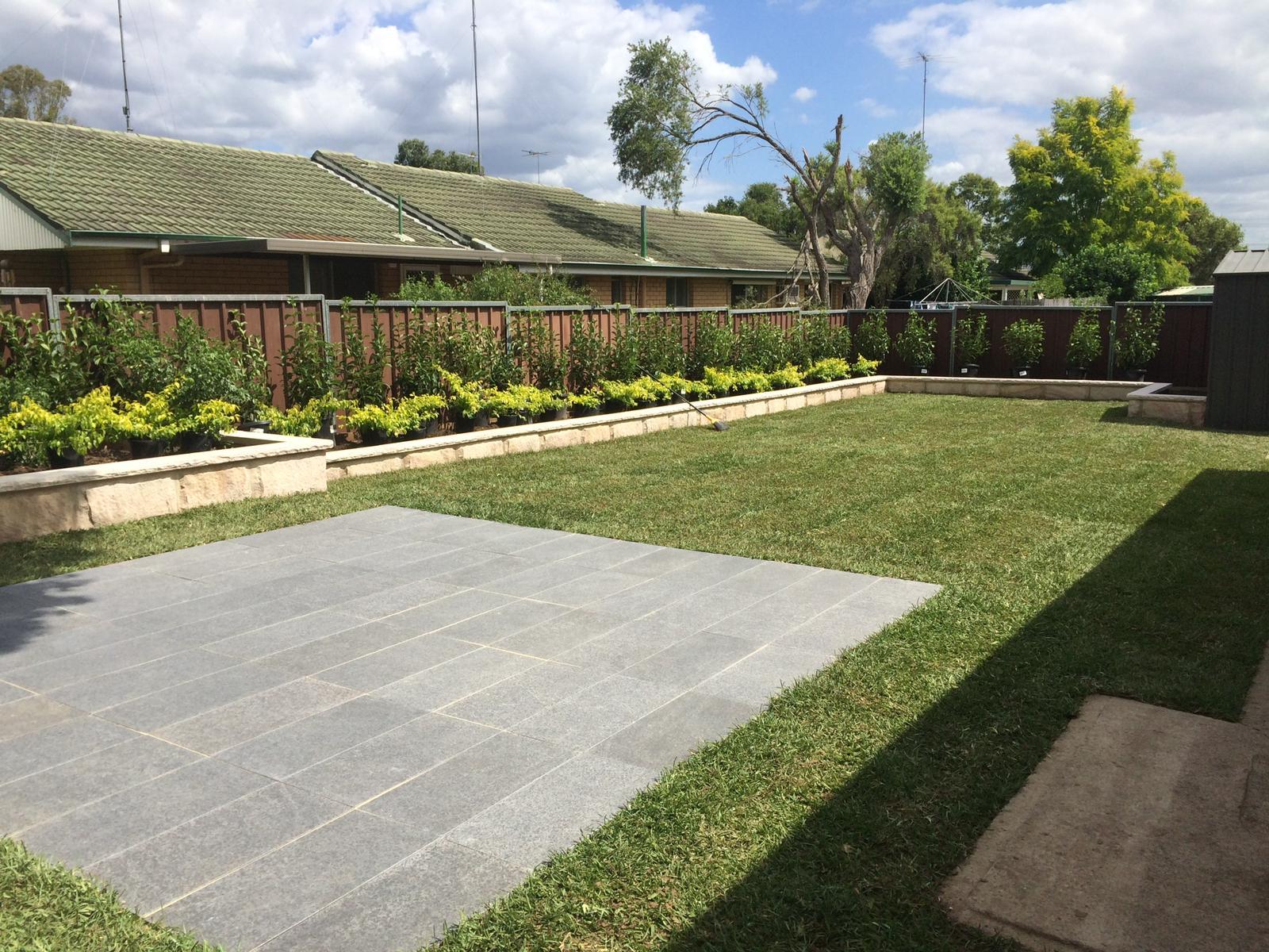 Private Courtyard built in Bella Vista, NSW